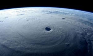 Space station camera captures ominous video of Super Typhoon Maysak