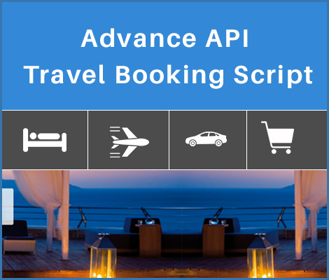 Advance API Travel Booking Script