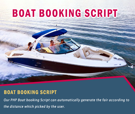 PHP boat booking software