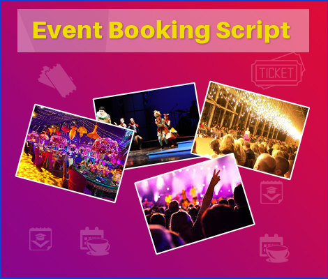 Event booking script