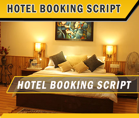 Hotel booking script PHP